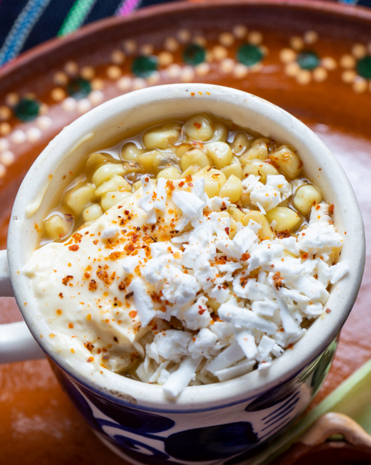 How to Make Mexican Street Corn (Elote) in the Microwave