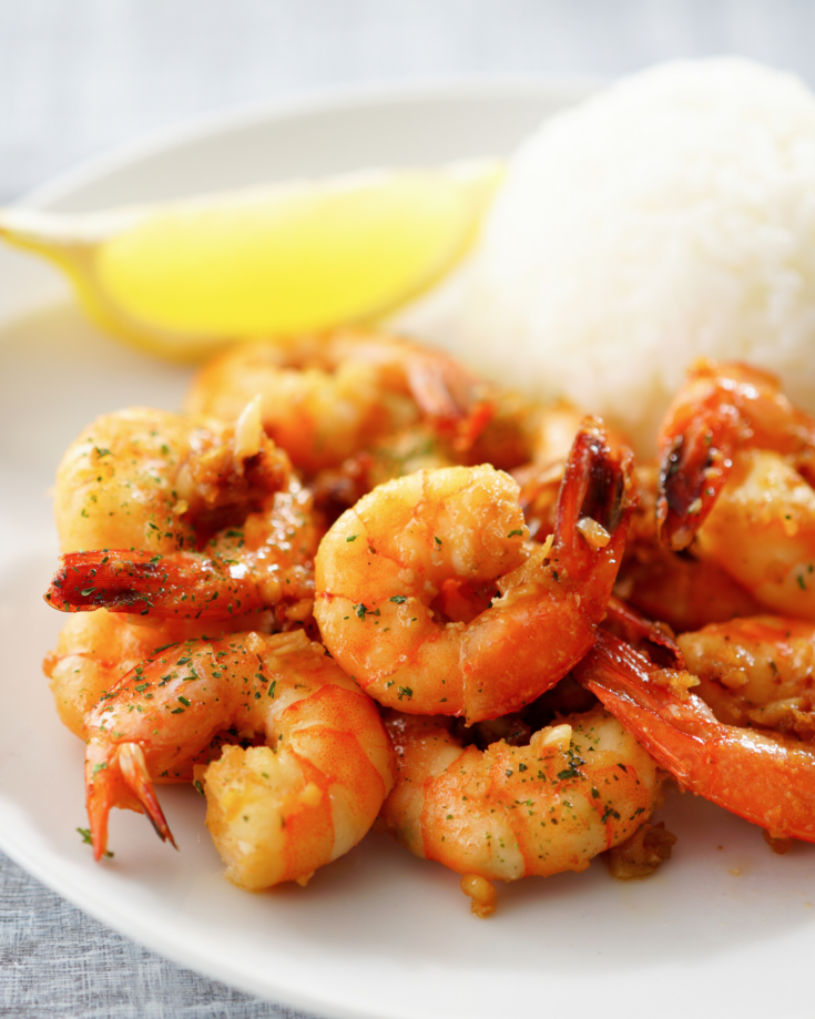 How to Make Garlic Shrimp in the Microwave